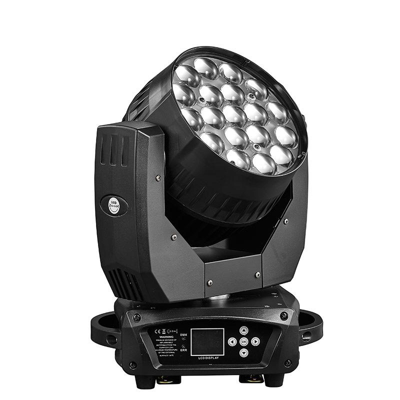 19x15w LED调焦摇头灯
