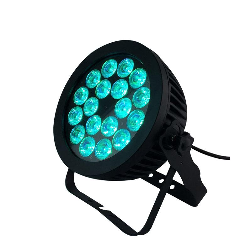 18x18w 6合一LED薄款室外防水帕灯