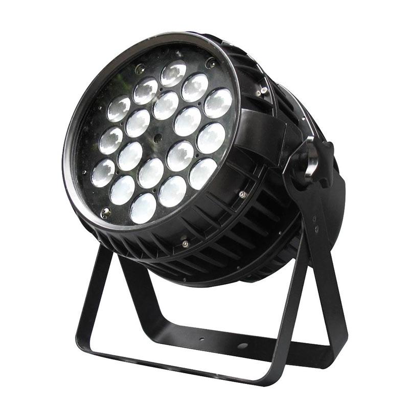 18x18w 6合一LED室外防水调焦帕灯