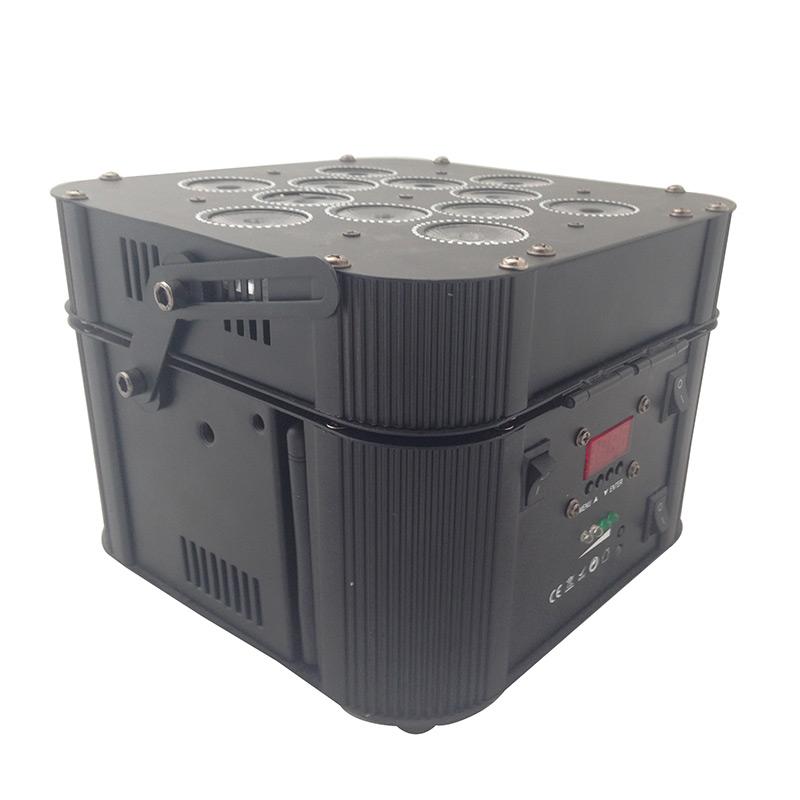 12x18w 6合一无线电池帕灯